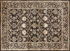 Tapping into one of today's hottest trends, this brilliantly distressed rug offers the look of an aged hand knotted rug. I Available at Rug & Home I Classic Rugs, Traditional Rugs, Hand Knotted Rugs, Throw Rugs, Vintage Inspired, Bohemian Rug, Area Rugs, Design, Trends