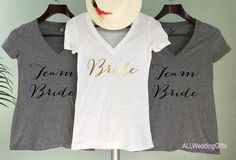 Hey, I found this really awesome Etsy listing at https://www.etsy.com/listing/270416502/team-bride-shirts-bachelorette-party