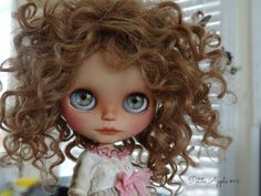 Blythe custom doll by Petite Apple #104 ORO