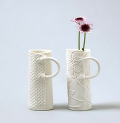 artist ? handle inspiration: a coil tucked into the seam, a coil wrapped around the mug, lots of possibilities