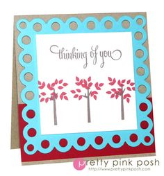 WPlus9 Thinking of You card