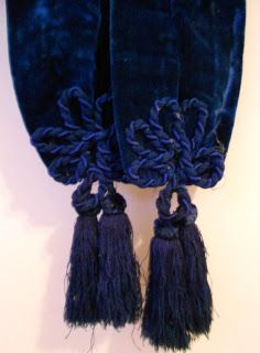 And BLUE! Bustle Era Bodice
