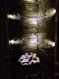 --- Saunas, Led, Painting, Design, Painting Art, Steam Room, Paintings, Painted Canvas