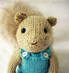 knit squirrel