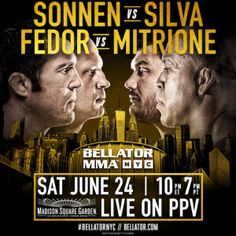 Time for Bellator to step into the big leagues, as more top fighters are jumping ship - http://mmagateway.com/bellator-180-the-2nd-biggest-promotion-sets-up-for-their-biggest-show-ever #BellatorMMA #MSG