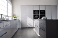 PULVA, minimalistic, interior design, metal, minimal, modern, materials, home, homestyle, house, dom, kitchen, dining room Kitchen Dining, Dining Room, Home Fashion, Dom, Modern, Minimalism, Interior Design, House Styles, Furniture