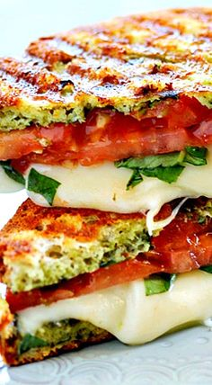 party panini panini with zucchini summer squash basil recipes dishmaps ...