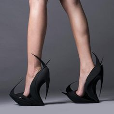 Zaha Hadid 3D Shoes