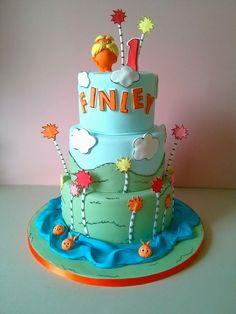 Children's Birthday Cakes - The Lorax