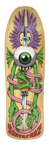Santa Cruz Flying Eye Old School Skateboards, Vintage Skateboards, Skateboard Deck Art, Skateboard Design, Skate Decks, Skate Surf, Ski Sport, Skate And Destroy, Cool Deck