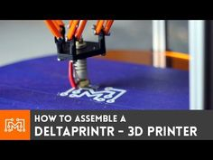 Ever wonder how difficult it is to make a 3d printer? With a kit like this one, a Deltaprintr, it's not hard at all!  No special skills, or tools required!