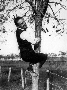 """Fortunato Depero – """"Self-portrait on a Tree"""" (1915)"""