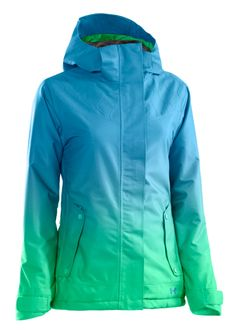 123d623e797 Under Armour Women s Coldgear Infrared Fader Jacket (Crown  Jewel Chlorophyll Crown Jewel)