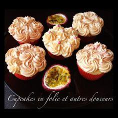 Cupcakes fruit de la passion