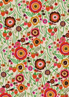 Strawberry Meadow Wrap by Brie Harrison