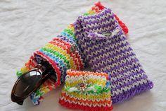 Rainbow Loom Nederlands, telefoonhoesje/bril-hoesje/portemonneetje