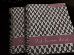 My planner from Plum Paper Designs