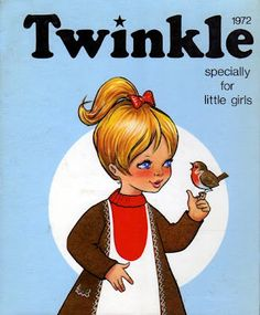 Oh how I loved my Twinkle comic with the paper dolly in the back