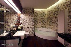 Дизайн ванной комнаты. Проект студии Geometrix, Москва.