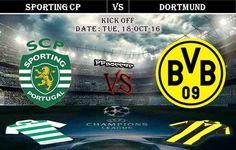 Sporting CP vs Borussia Dortmund 18.10.2016 Predictions - PPsoccer