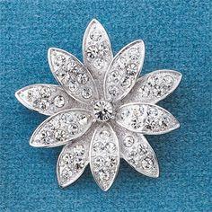 Lotus flower brooch Lotus Jewelry, Jewelry Box, Jewellery, Modern Jewelry, Vintage Jewelry, Flower Brooch, Lotus Flower, Pendants, Jewels