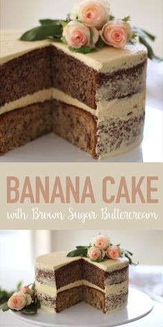 Easy Desserts, Delicious Desserts, Yummy Food, Cake Filling Recipes, Dessert Recipes, Cake Fillings, Cake Decorating Techniques, Banana Recipes, Sweet Recipes