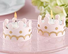 Little Princess Tealight Holder (Set of 4) | By Kate Aspen