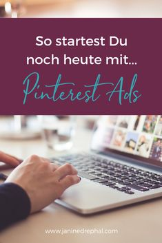 Pinterest wird zum wichtigen Marketinginstrument. So kannst du noch heute mit Werbeanzeigen auf Pinterest starten! Affiliate Marketing, Social Media Marketing, Blogging For Beginners, Pinterest Marketing, Ads, Advertising Ads, Handy Tips, Finance, Tips And Tricks