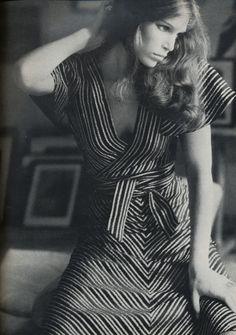 Photographed by Arthur Elgort for Vogue UK, November 1972.
