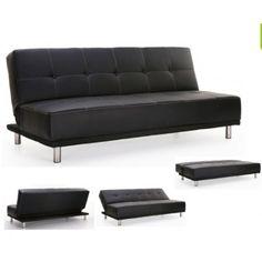 Puff cama economico sillones y sof s pinterest sofas for Sofa cama extensible