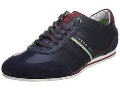 Hugo Boss Victoire Fiction Mens 50298293-401 Dark Blue Casual Sneakers Size 10