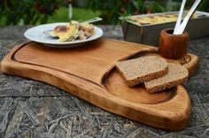 Cutting+board,+Wood+chopping+board,+Wooden+plate,+Wooden+cutting+board+with+small+bowl+section,+Kitchen+accessories