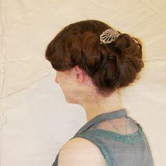 A Wild Tea Party: Edwardian Hair: The Downton Look