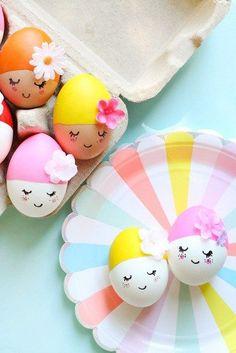 Inspi {DiY} déco Oeufs de Pâques pour les kids !