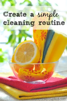 Interview with Clean Mama on Clutter Interrupted : Create A Simple Cleaning Routine