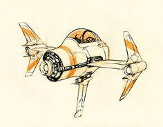 Little Spaceship by JakeParker.deviantart.com on @deviantART
