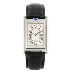 CARTIER - a Tank Basculante wrist watch.  Estimate GBP: £740 - £940