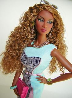 New Black Barbie . . . Is not even a Barbie . . . She's Fashion ...