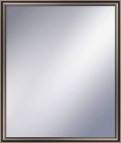 "PTM Images 5-1260 22.5"" X 18.5"" Rectangular Mirror With Champagne Frame Champange Home Decor Mirrors Lighting"