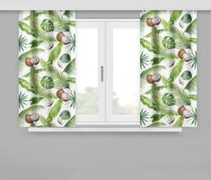 Závěsy do oken originální vzor Curtains, Shower, Prints, Rain Shower Heads, Blinds, Showers, Draping, Picture Window Treatments, Window Treatments