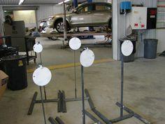 Steel Target Hanger T-Post AR500 Plate / A36 Target mount   Steel targets and Target & Steel Target Hanger T-Post AR500 Plate / A36 Target mount   Steel ...