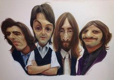 Caricature Collection: Beatles