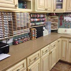 My wife's craft room