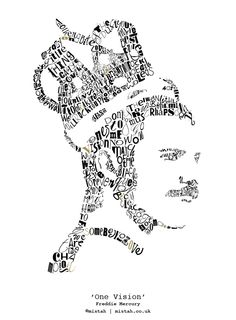 freddie mercury quotes 'One Vision' Freddie Mercury Limited-edition fine art print Queen Freddie Mercury, Freddie Mercury Quotes, Freddie Mercury Tattoo, Queen Songs, Queen Lyrics, Freddie Mercury Zitate, Fred Mercury, Queens Wallpaper, King Of Queens