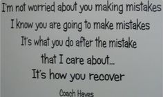 How you recover.