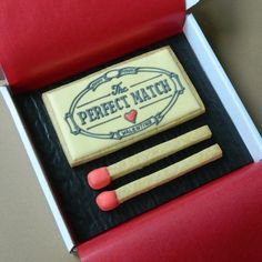The Perfect Match Cookie Card