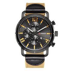 #Zapals - #Zapals CURREN 8194 Men's Wristwatch Calendar Army Sports Watch with Canvas Band - AdoreWe.com