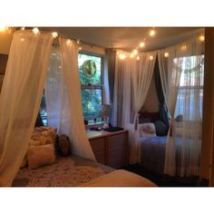 Great way to take a canopy and make it look good rather than looking like a princess, lol