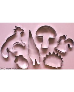 Forest Friends Cookie cutters Single End of Summer by colorhaus, $5.00