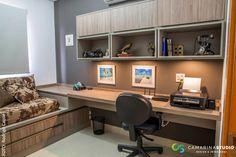 rustic Study/office by Camarina Studio
